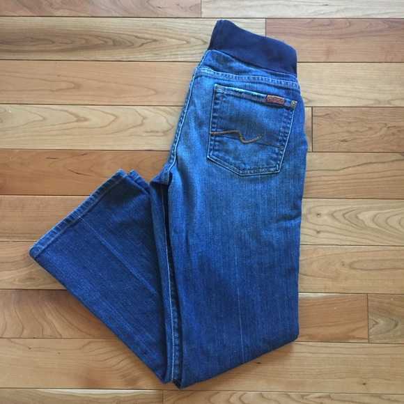 b73f86232d4c3 A Pea in the Pod Jeans | 7 For All Mankind Maternity | Poshmark